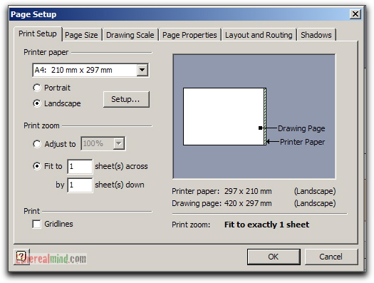 Network Diagrams  Tips For Printing From Visio