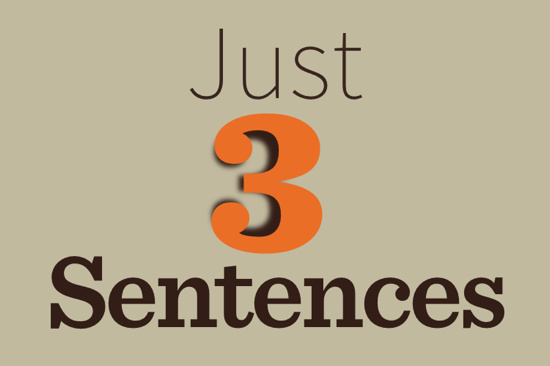 Just-Three-Sentences