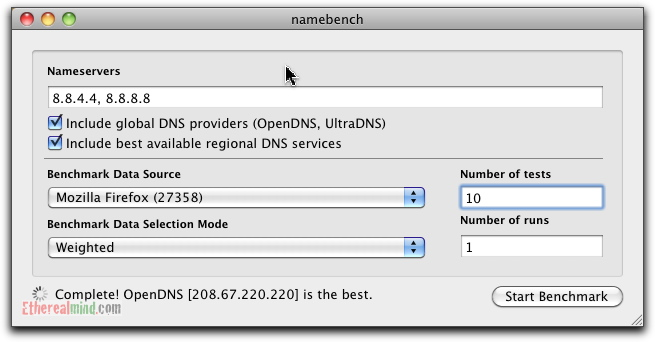 United States of America DNS Servers