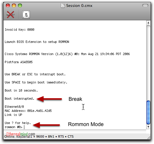 Review: goSerial - Console Break for Network Devices on OSX