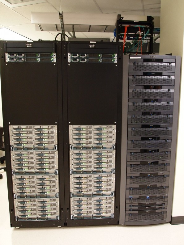 300 to 800 servers in just three to five racks. Awesome, now I can spend time working on the firewalls instead of chasing patch leads.