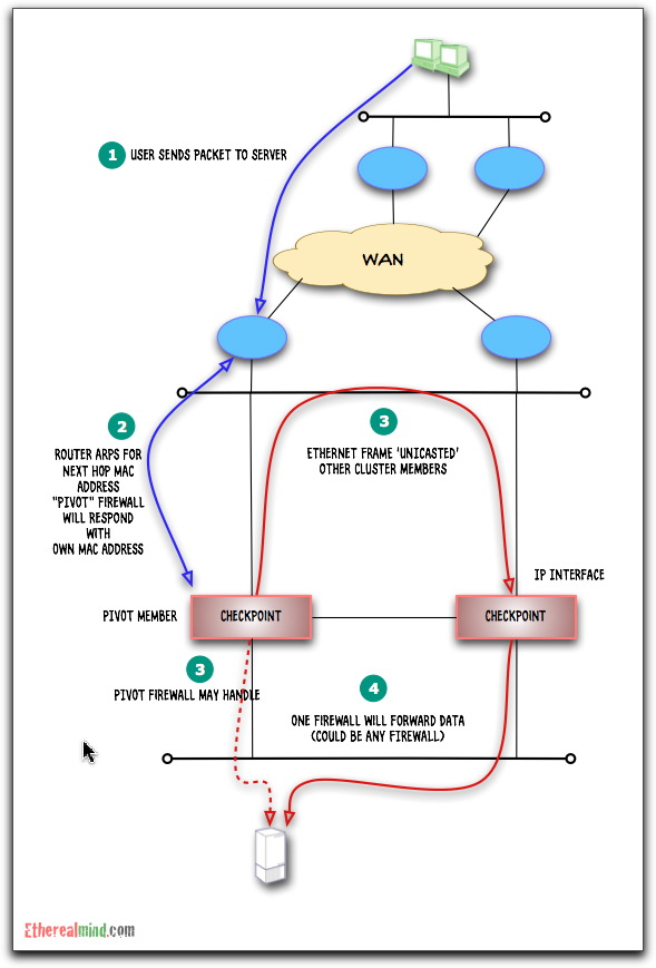 Checkpoint cluster 7