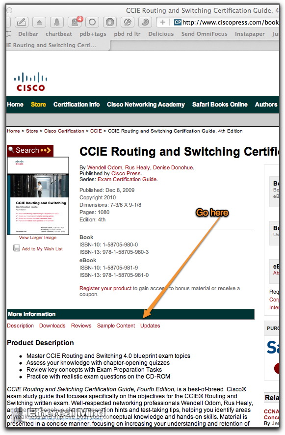 Ciscopress errata updated 1