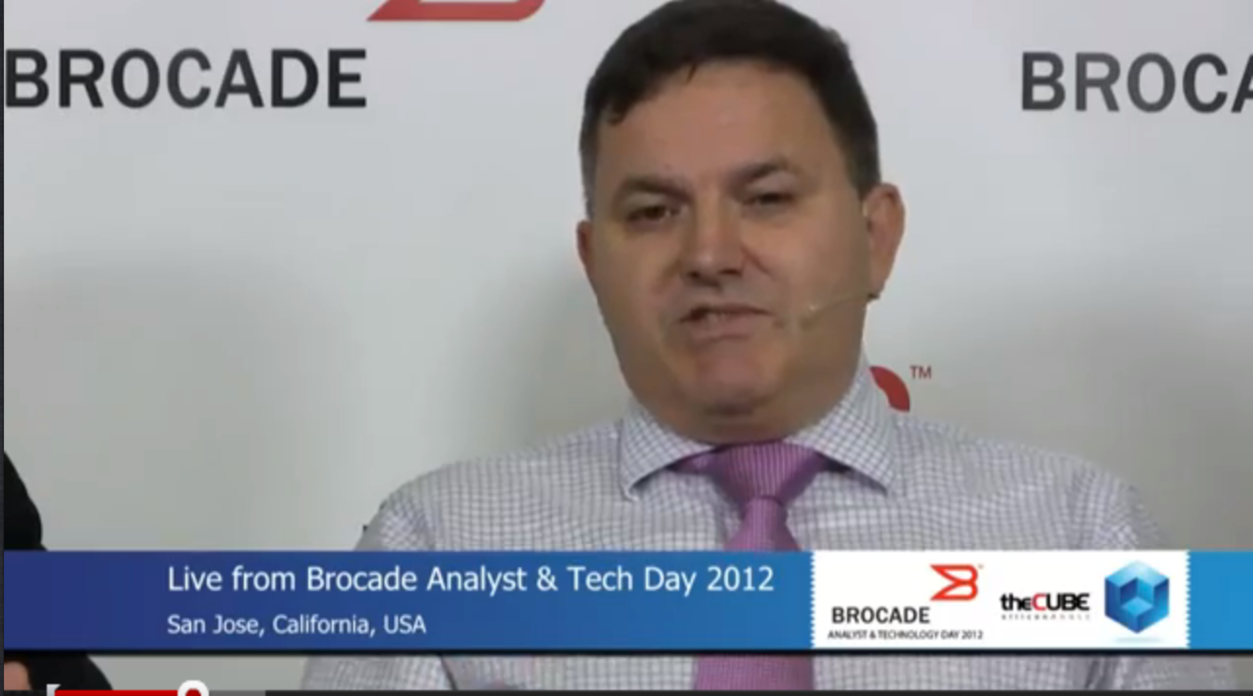 The Cube Brocade Tech Day Greg Ferro and Jon Hudson - YouTube