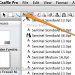 Max OSX: Set Default Font in OmniGraffle