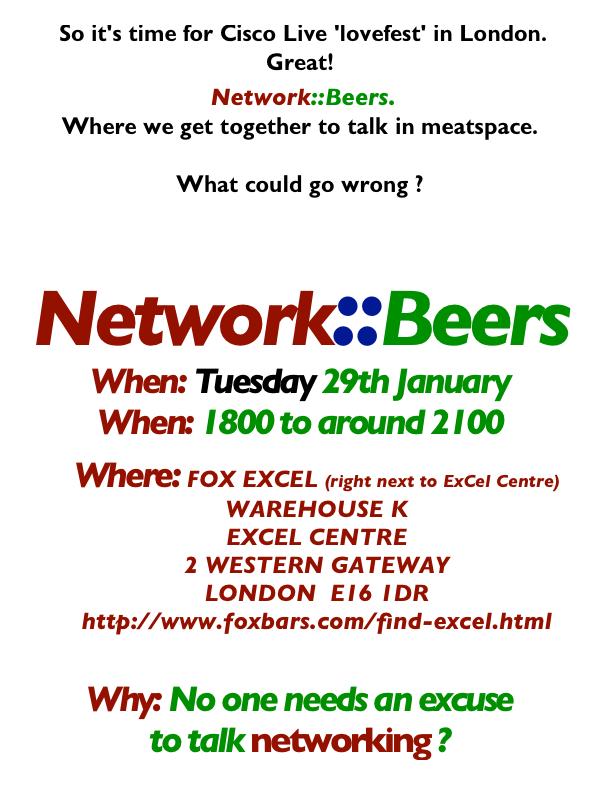 Network beers 20130128