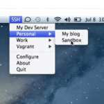 OS X: Shuttle – A simple SSH shortcut menu for OS X