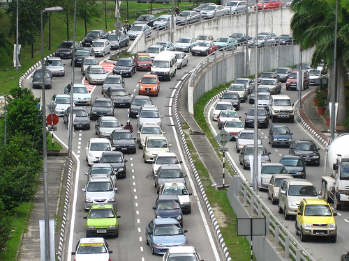 100% Utilisation is a Traffic Jam