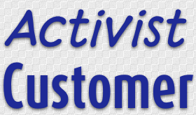 Activist Customer or Citizen Analyst