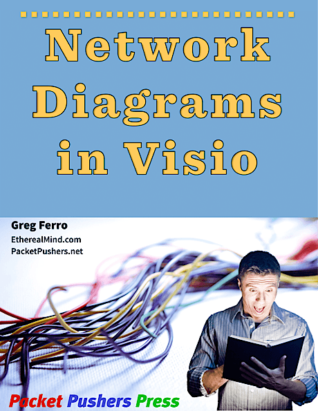 Network diagrams with visio title page resized 1