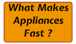 What Makes Network Appliances Fast ?