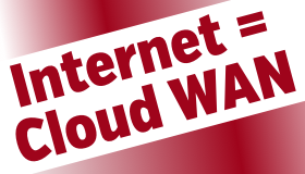Internet-as-cloud-wan