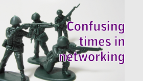 Confusing Times in Networking and Cognition Jumps