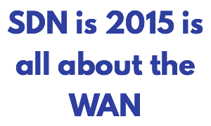 2015 is all about SDN WAN