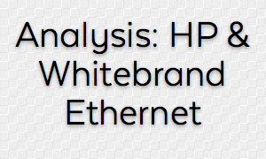 HP Embracing Whitebrand/Bare Metal/Britebox Ethernet Switching