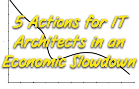 Five Action Items For IT Infrastructure Architects If the Global Economic Slowdown Starts To Bite