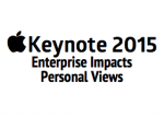 Apple Keynote 2015 – Enterprise & Personal