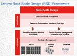 Basic Rack Scale Elements